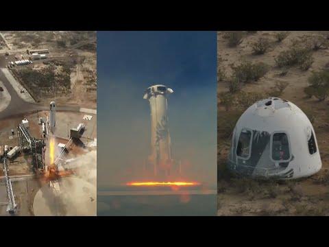Texas News - Blue Origin Launches New Shepard Rocket From Texas
