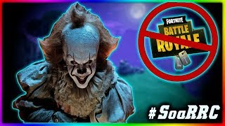 Pennywise gets KID BANNED From Computer on FORTNITE #SoaRRC #GSQUAD