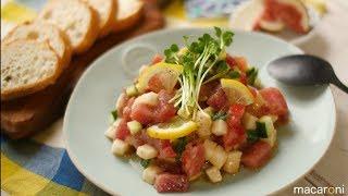 長芋と まぐろの タルタル のレシピと作り方を動画でご紹介します。マグ...