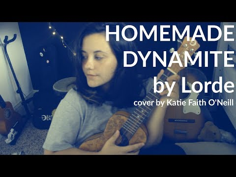 Homemade Dynamite By Lorde (Melodrama Album) Cover - Katie Faith O'Neill