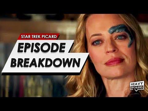 STAR TREK: Picard Episode 5 Breakdown + Ending Explained | Spoiler Review, Easter Eggs & Predictions