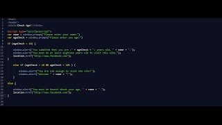 Age Verification System For Your Website   HTML - JavaScript   Mp3