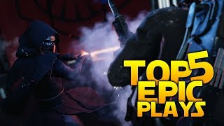 TRICKED HARDER THAN SNOKE: Battlefront 2 Top 5 EPIC Plays!