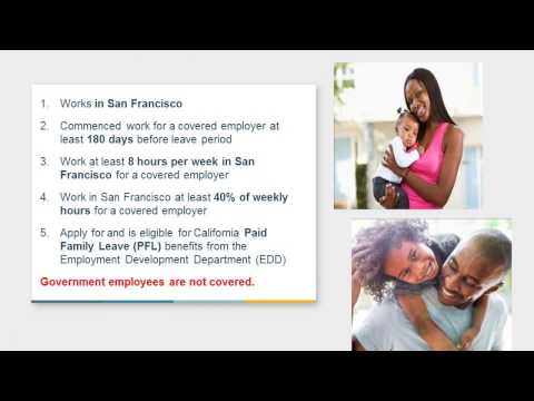 San Francisco Paid Parental Leave Ordinance: What Employers Need To Know