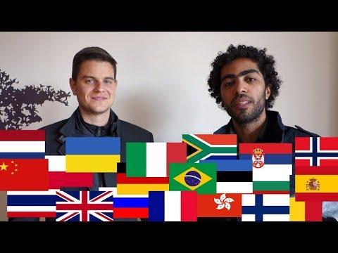 2 Guys Speaking 20 Languages - Polyglot Power