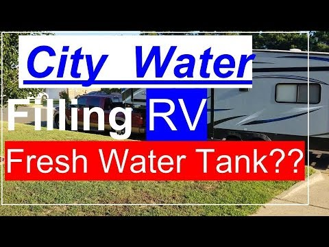 city water hook up rv