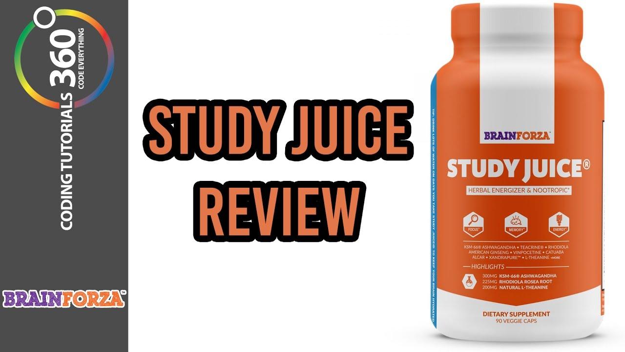 Study Juice Review