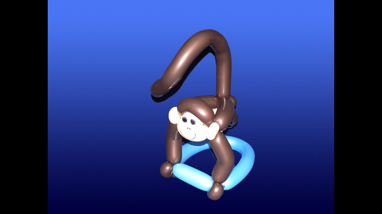 Crazy balloon animals - Add A Tail To Your Monkey Balloon Animal Make It A Hat Balloon Twisting Modeling 11 1