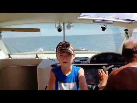 """Катер Марлин - """"пуля"""" на морской глади!"""