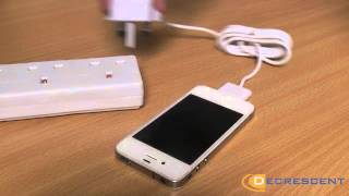 Decrescent Mains Charger for Apple Products with the 30pin Connection