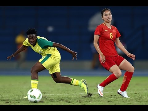 Tan Ruyin 40 Yard Goal - China W vs South Africa W
