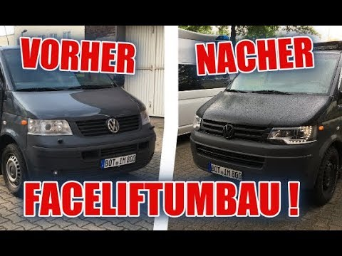 facelift umbau des vw t5 1 d itsmarvin youtube. Black Bedroom Furniture Sets. Home Design Ideas