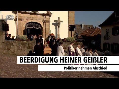 Beerdigung von Heiner Geißler | RON TV |
