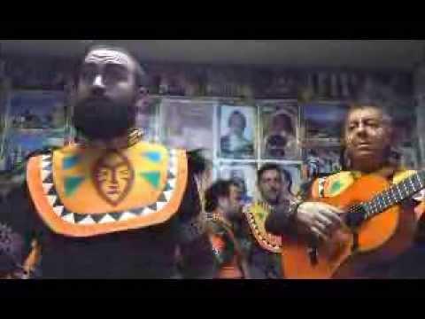comparsa AFRIKA pasodoble para la final cantado por ale molina en los pabellones