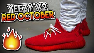 yeezy boost 350 red october