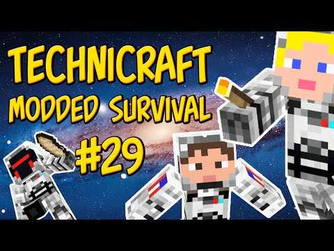 minecraft-|-galacticraft---technicraft-#29---cleaver-frenzy