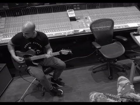 Trivium in studio making of Sin and Sentence - Warrel Dane new solo album 2018!