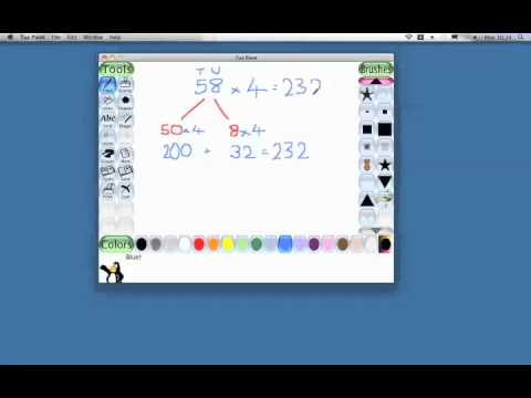 Multiplication - Partitioning.mov - YouTube