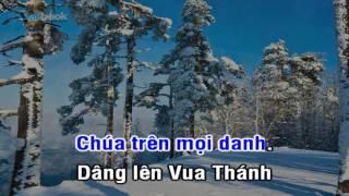 [Karaoke TVCHH] 073 - DÂNG LÊN VUA THÁNH - Salibook
