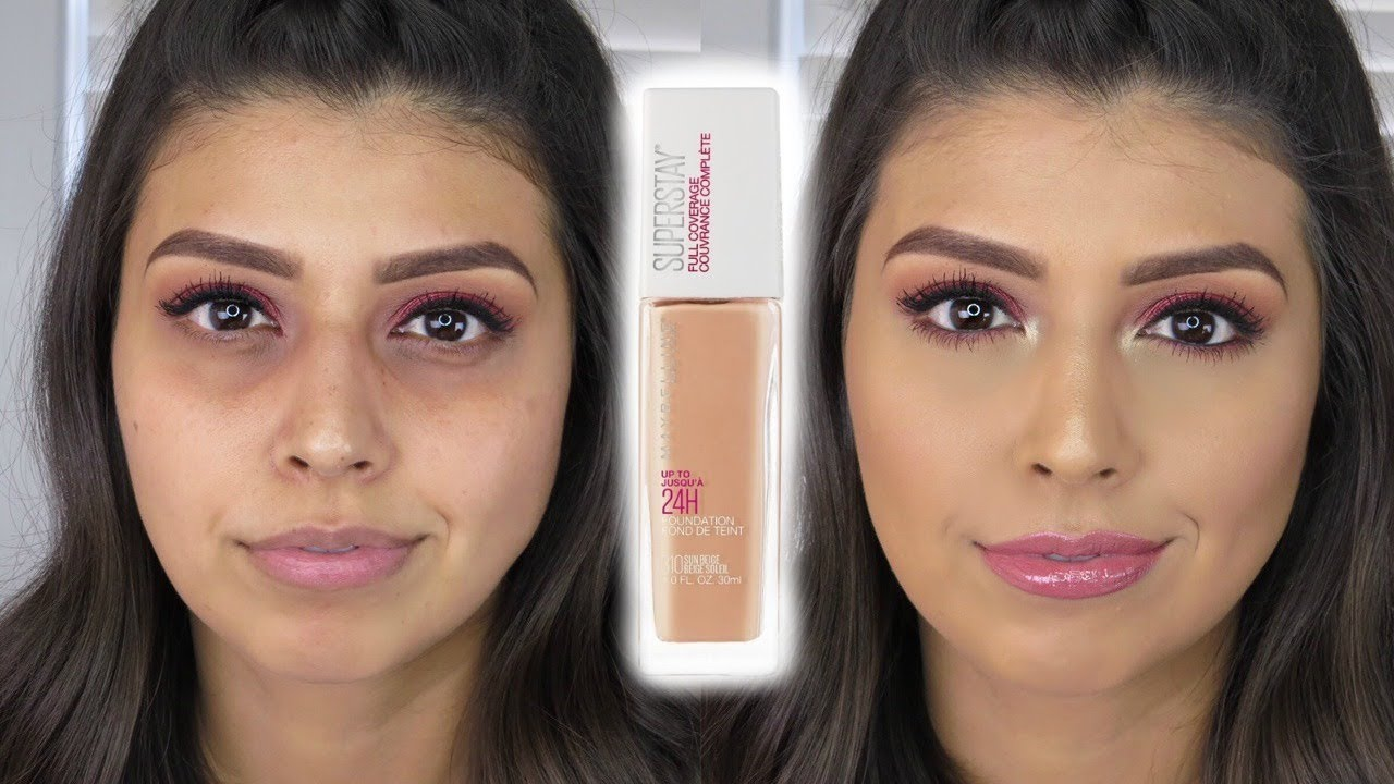 Omg New Maybelline Superstay Full Coverage Foundation Review