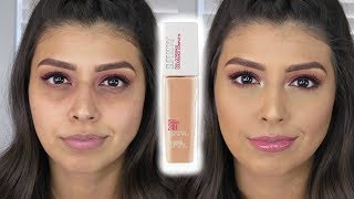 OMG! New Maybelline SuperStay Full Coverage Foundation | Review