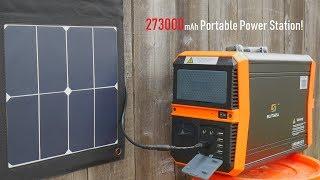 SUNGZU: 1000 Watt Portable Power Station Generator / 273000mAh!!!