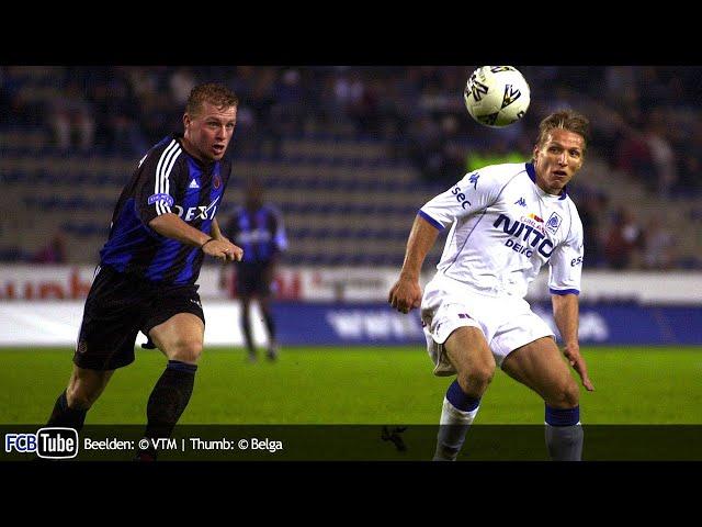 2002-2003 - Supercup - 01. Racing Genk - Club Brugge 0-2