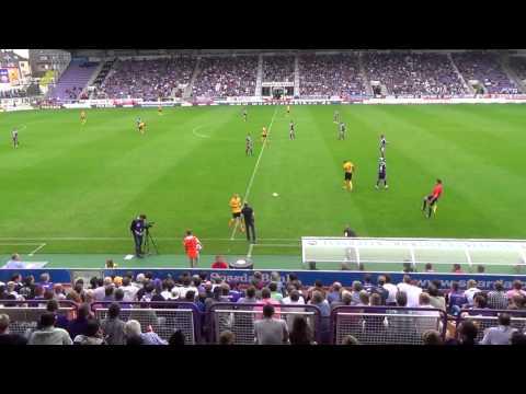 1st half of the match, Vfl Osnabruck vs Dynamo Dresden 2-2