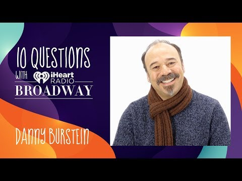 iHeartradio Broadway Interviews - Danny Burstein Of 'Moulin Rouge' Goes After Roles That 'Blow His Skirt Up'