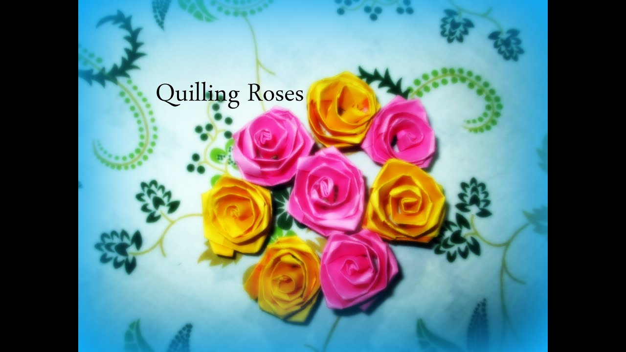 How to make paper quilling flowers basket elegant add green affordable diy paper crafts how to make colorful quilling paper rose flowers innovative art youtube with how to make paper quilling flowers basket mightylinksfo