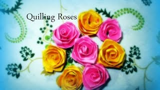 Diy paper crafts how to make colorful quilling paper rose flowers diy paper crafts how to make colorful quilling paper rose flowers innovative art mightylinksfo