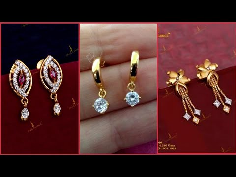Top Beautiful Minimalist Gold Earrings And Gold Stud Designs