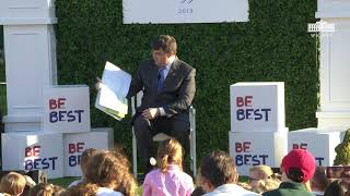 White House Easter Egg Roll Reading Nook - Secretary of Veteran Affairs Robert Wilkie