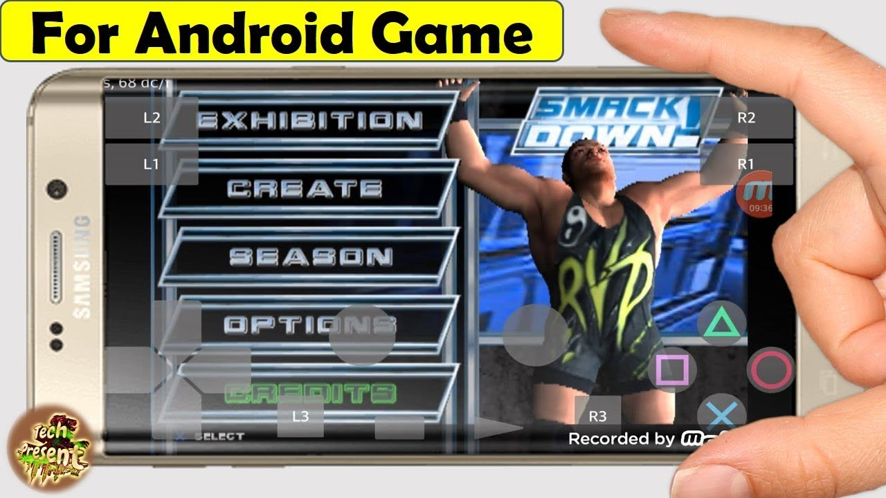 How To Download WWE SmackDown PAIN On Android Using PS2 Emulator | Wwe SmackDown Here Comes The Pain #1