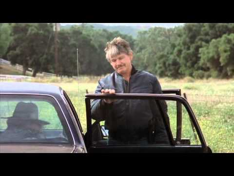 Charles Bronson closes car doors with unimpeachable finesse
