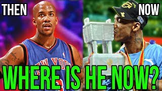 Where Are They Now? STEPHON MARBURY