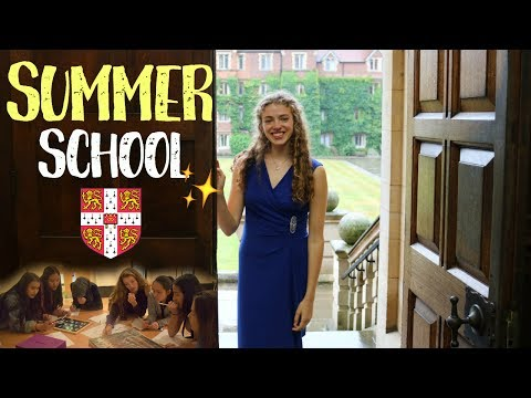Cambridge University Summer School VLOG at Selwyn College - My Experience!!