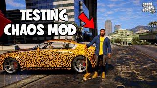 Installed The GTA V Chaos Mod! (മലയാളം)