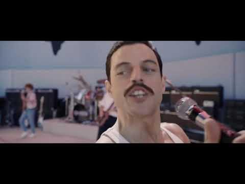 Bohemian Rhapsody - Live Aid, Radio Gaga Scene (Rami Malek, Freddie Mercury)