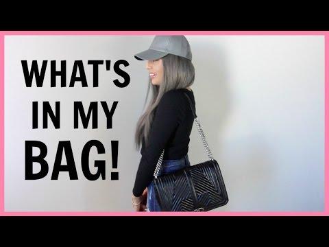 ec2563fb4 What's In My NEW Rebecca Minkoff Jumbo Love Bag + REVIEW! - YouTube