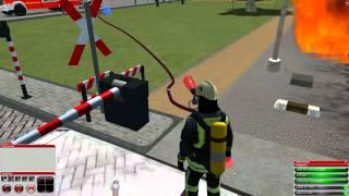 Feuerwehr Simulator 2010 - Bahnübergang [ Mission 8 ]