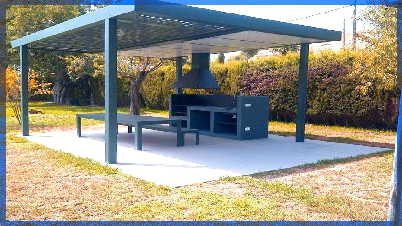 Ideas para p rgolas metalicas youtube for Pergolas metalicas jardin