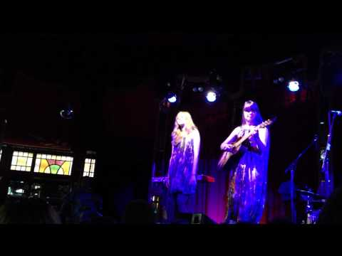 First Aid Kit- Ghost Town Acoustic Live (Spiegeltent Melbourne)