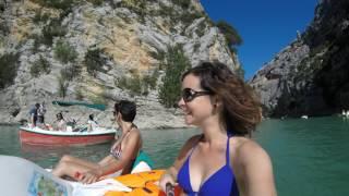 Le lac de Sainte Croix Août 2016 Emma et Linda