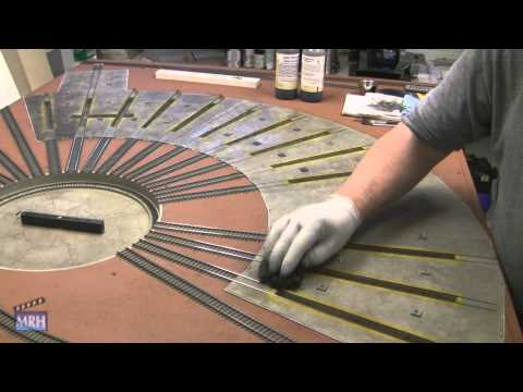 Les Halmos concrete floor weathering trick