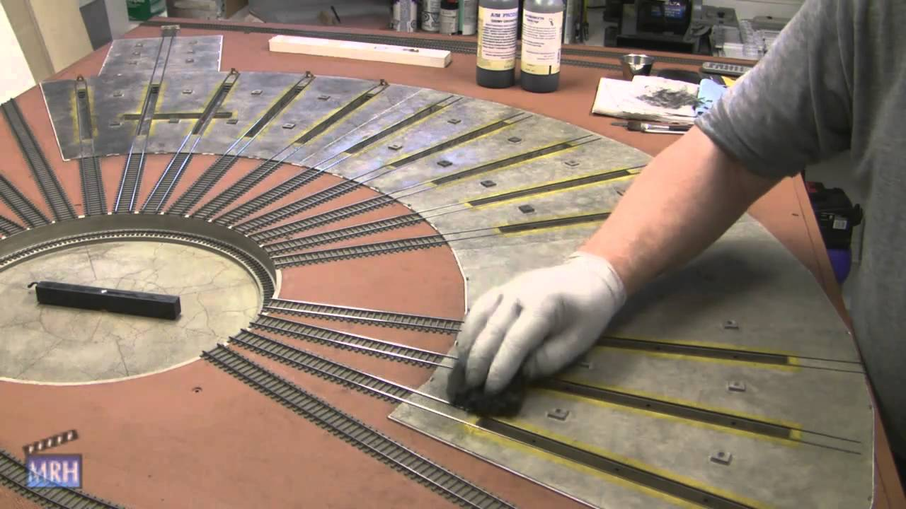 Les Halmos Concrete Floor Weathering Trick Youtube