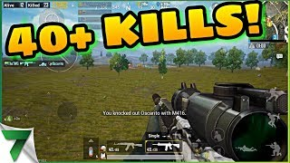 POWERBANG & THE7WG HIGH KILL GAME WITH PUBG MOBILE DEVELOPERS!