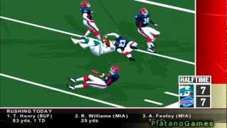 NFL 2012 TNF Week 11 - Miami Dolphins (4-5) vs Buffalo Bills (3-6) - 2nd Half - NFL 2K5 - HD