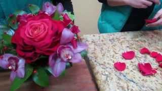 Ramos de novia rosas orquideas bodas zaragoza