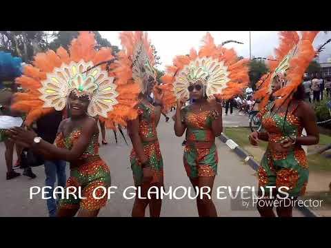 Carnival calabar 2nd dru run....Governor's band